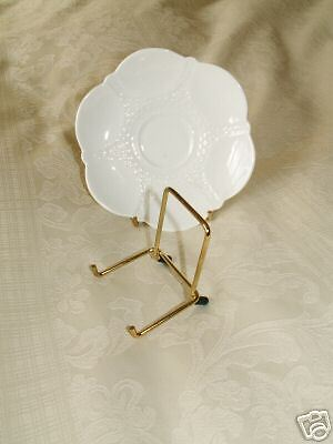 6 SMALL PLATE DISPLAY STAND BRASS size 2