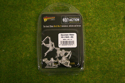 Bolt Action German Heer HQ Warlord Games 28mm