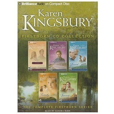 Karen Kingsbury FIRSTBORN SERIES COMPLETE * 20 CDs 20 Hours *NEW* FAST Ship!