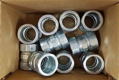 "Case of 10 Hubbell 3/4"" Rigid/Imc Compression Coupling 1823 FREE SHIPPING!!!"