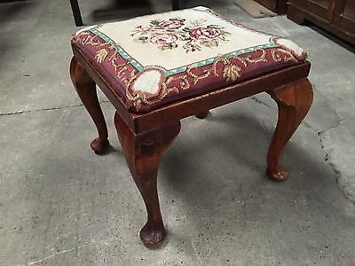 Tapestry Topped Stool (6030)