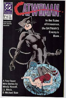 Catwoman #1 Feb 1989 DC Comic Book Mini Series Metamorphosis Batman Enemy Born