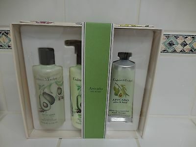 Crabtree & Evelyn AVOCADO Shower Gel / Lotion / Hand Therapy Set