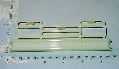 Buddy L White Plastic Truck Bumper Toy Part