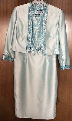 Ladies Roman dress & jacket outfit Size 12 / 14 Wedding Races Special Occasion