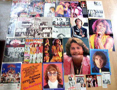 BEE GEES   -30  x Presseberichte + 4 x Poster+ 1 x Cover