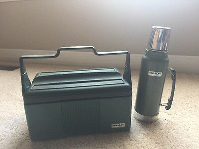 Aladdin Stanley Green Cooler Lunchbox & Thermos - Free Shipping