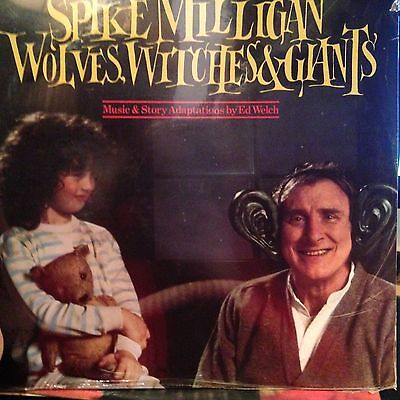 Spike Milligan Wolves Witches & Giants   Vinyl Lp Album New And Sealed