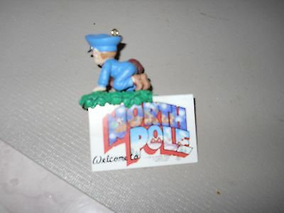 Welcome To The North Pole Mailman Ornament