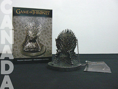 GAME OF THRONES Holiday Ornament IRON THRONE by Kurt S. Adler