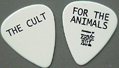"""The Cult guitar pick Authentic touring pick """"For the Animals"""""""