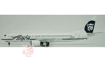 Inflight200 Alaska Airlines B 737 1:200 Diecast Commercial Plane Model IF739003