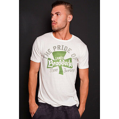 Roots of Fight James Braddock Clover T-Shirt - Triblend White