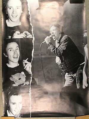 Sex Pistols - Johnny Rotten - poster is from early 90s !
