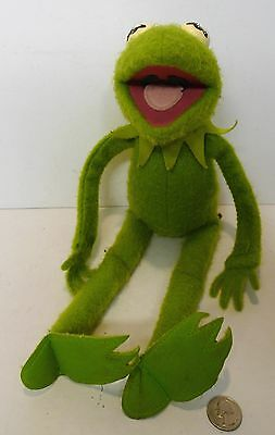 "Fisher Price Vintage Kermit The Frog 20"" Plush Doll Jim Henson #850 Fp 1976"