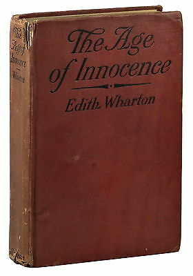 The Age of Innocence ~ by EDITH WHARTON ~ True First Edition ~ 1st Printing 1920