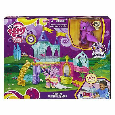 New Hasbro My Little Pony Celebration Crystal Princess Palace Playset A3796