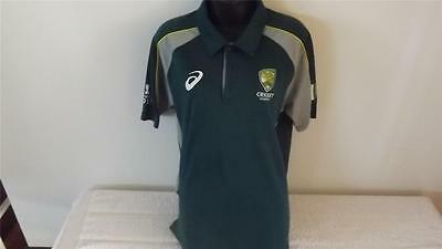 Cricket Australia 2015 Official Asic Polo In Great Cond Size L