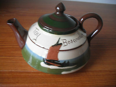"""Boscombe(Torquay Mottoware) Small Teapot """"Duee ave a cup a Tay"""" by Longpark"""