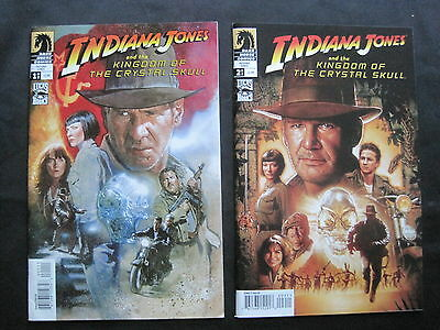 INDIANA JONES & the KINGDOM of the CRYSTAL SKULL:COMPLETE 2 ISSUE SERIES.1A.2008