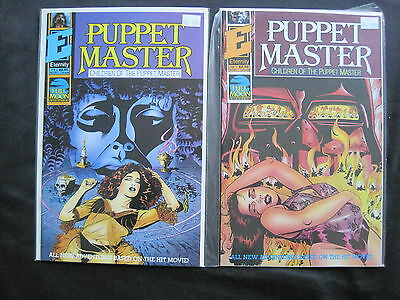 CHILDREN of the PUPPET MASTER : COMPLETE 2 ISSUE SERIES. HORROR MOVIE. 1991