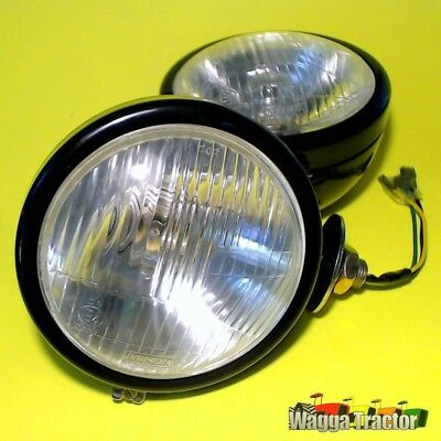 HLT2310 2x Side Mount Headlight Head Lights Chamberlain 9G C670 C6100 Tractor
