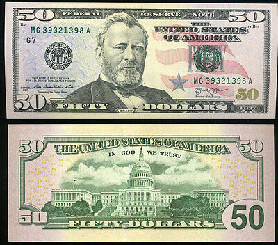 "United States 50 Dollars Usa 2013 P New Chicago Il ""g"" Unc"