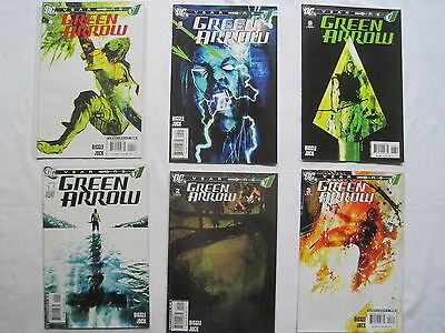 GREEN ARROW, YEAR ONE : COMPLETE 6 ISSUE SERIES by ANDY DIGGLE & JOCK. DC. 2007