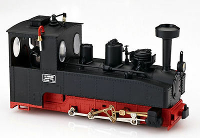 Minitrains 1021 - Brigadelok 0-8-0 Locomotive, Black, New (009/HOe Narrow Gauge)