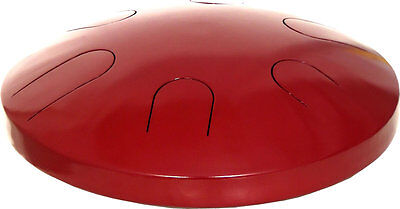 Atlas 16inch TONGUE DRUM, Indian-made Tanpura with red finish. Hobgoblin Music