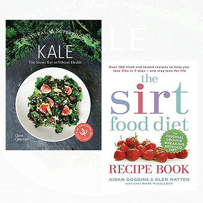 The sirtfood diet recipe book collection 3 books set the sirt diet sirtfood diet recipe book 2 books collection set kale the secret key to vibrant forumfinder Images