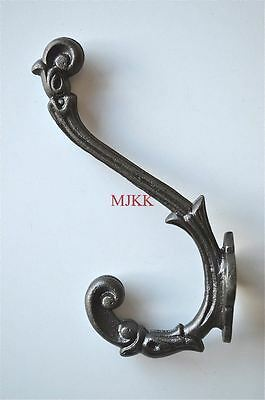 Regency cast iron acanthus coathook wall door hanger coat hook AL44