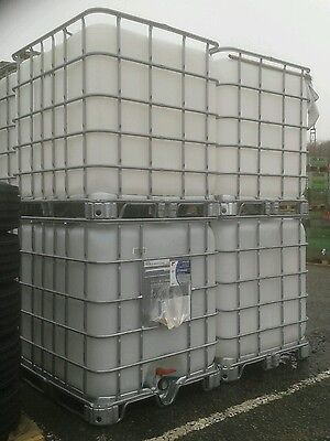 IBC Container - 1000 litres - on Pallet  Water Storage Tank