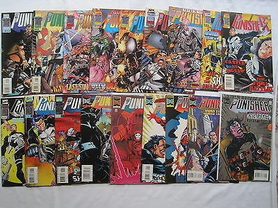 THE PUNISHER : COMPLETE 18 ISSUE MARVEL EDGE 1995 SERIES by OSTRANDER & LYLE