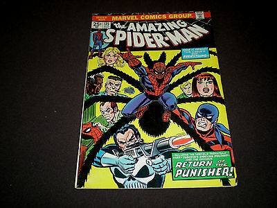 Amazing Spider-Man 135, (1974), 2nd Appearance the Punisher, Marvel A3