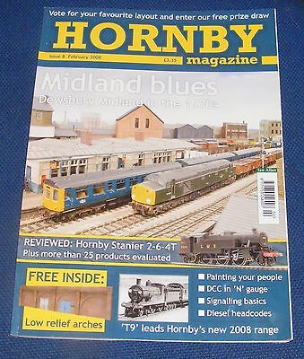 Hornby Magazines Various Issues 2008