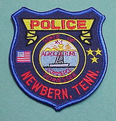 Newbern  Tennessee  Tn   Police Patch   Free Shipping!!!