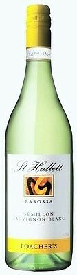 St Hallett `Poachers Blend` Semillon Sauv. Blanc 2016(6 x 750mL)Barossa, SA