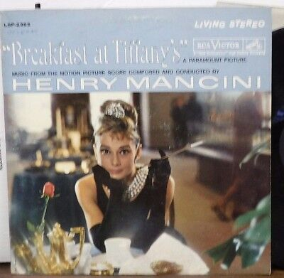 From the motion picture Breakfast at Tiffany's 33RPM LSP 2362  111116LLE