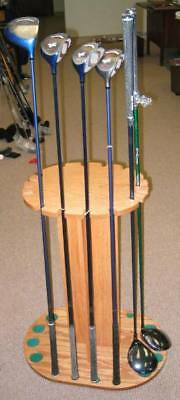 8232 Golf Club Wood Display Rack - Holds 16 woods - NEW
