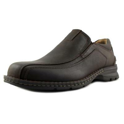 Dockers Agent Men  Bicycle Toe Leather Brown Loafer