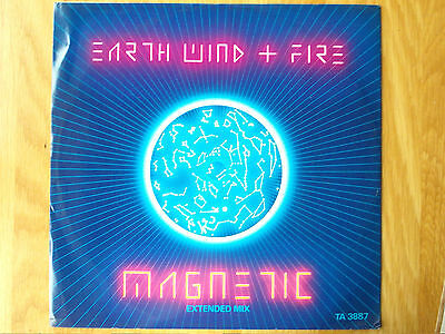 """Earth Wind And Fire Magnetic 12"""" Single 1983 N/mint"""