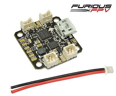 Furious FPV NUKE Brushed Micro Flight Controller Quad Ready w/ Built in BEC