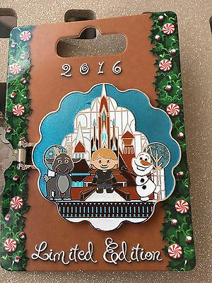 FROZEN Disney Gingerbread House 2016 Pin CONTEMPORARY HOTEL LE Olaf Elsa Anna
