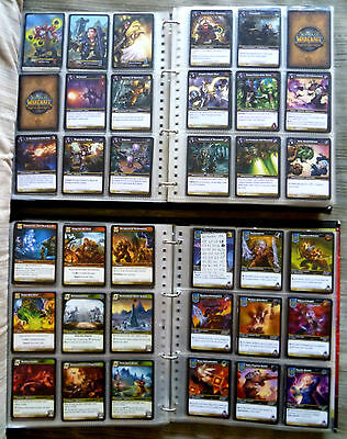 2500 cards WORLD OF WARCRAFT tcg Blizzard 3 legendary 28 epic 261 rare CARTE