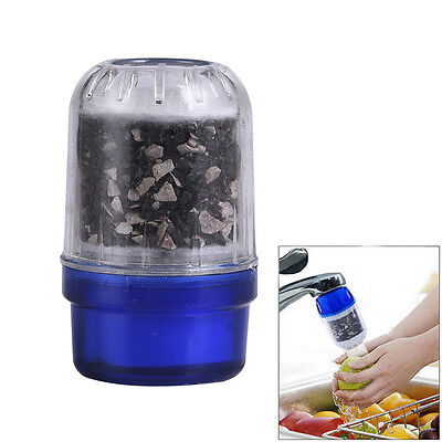 Home Kitchen Faucet Tap Coconut Carbon Water Purifier Filter Cleaner Cartridge