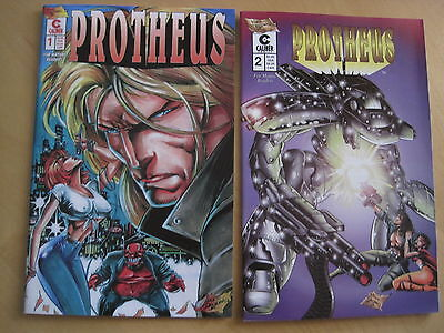 PROTHEUS : COMPLETE 2 ISSUE CALIBER SERIES FROM 1996 by MIKE DEODATO Jr. V ADULT