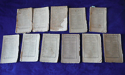 lot 11 antique Missionary Heralds w South AFRICA 1836-43 Zulu white conflict war