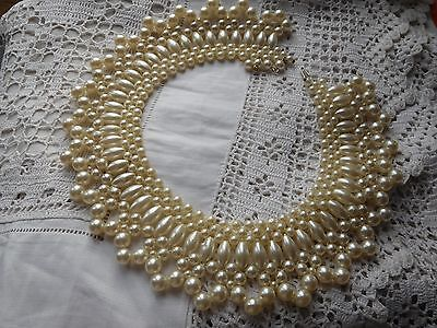 Fabulous Vintage 1950s Pearl COLLAR Necklace