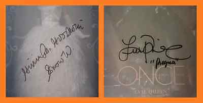 2015 Disney D23 Expo .. SIGNED & INSCRIBED Once Upon a Time Dolls #202/300